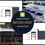 Choosing the Right Bar Stool Height for Your Counters