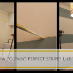 Tips from the Pros: How to Paint Perfect Stripes on a Wall