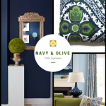 Color Inspiration: Navy and Olive