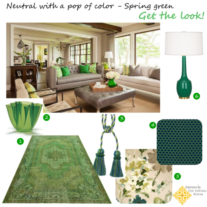 Interiors By The Sewing Room Living Room Design Board
