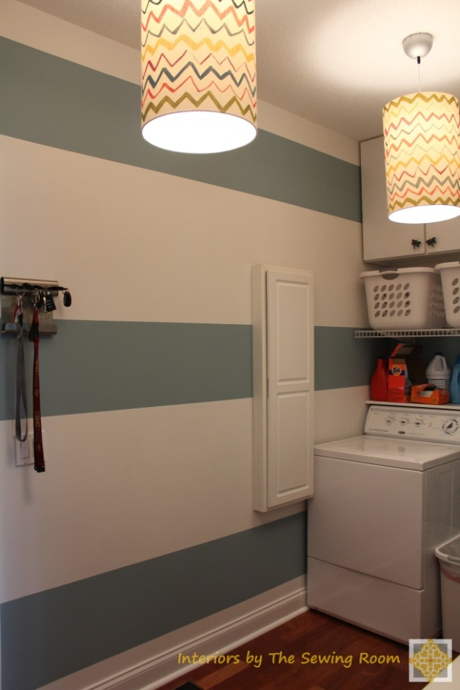 Laundry Room Remodel - Interiors by The Sewing Room