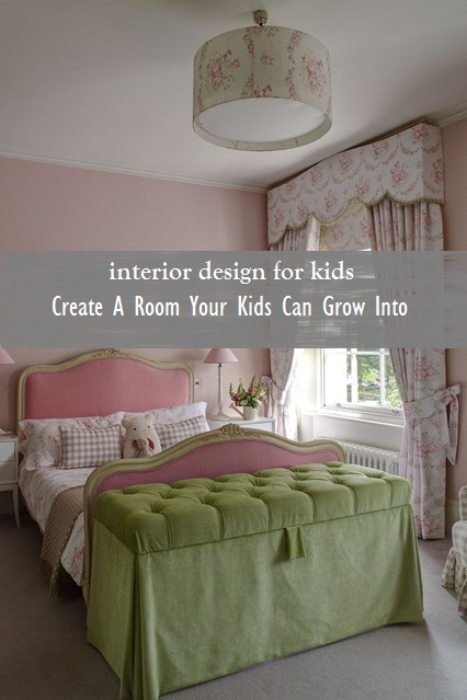 Feminine & playful drapes and bedding